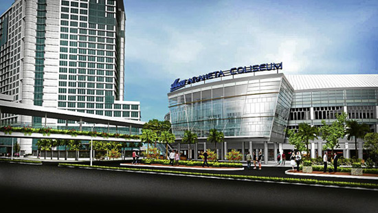SMART ARANETA COLISEUM Araneta Center, Cubao, QC (est. completion