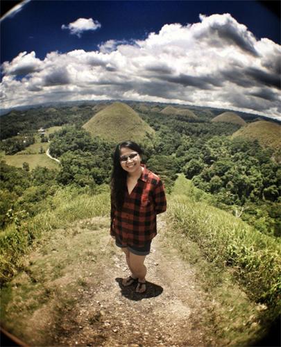 Chocolate Hills, Bohol -- woohoo!