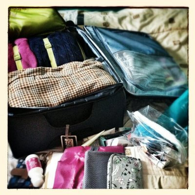 this is PACKING awesome! #osaka2013 (March 2, 2013 1:33pm)