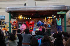 Elmo and friends rocking out