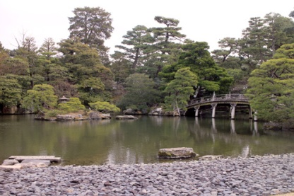 Oike-niwa Garden in Kyoto Imperial Palace