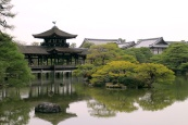 Heian Shrine - lake and garden