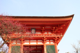 Kiyomizu-dera Temple - niōmon (gate)