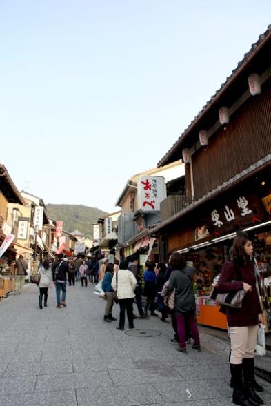 Kiyomizu-dera - shopping
