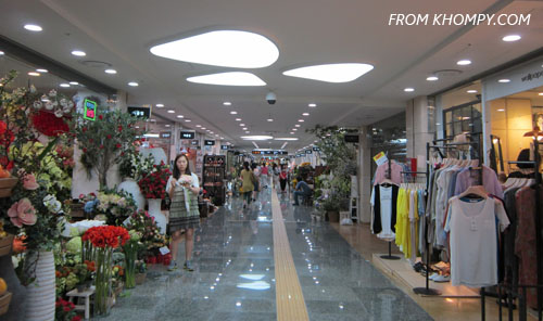 Gangnam Underground Shopping Center